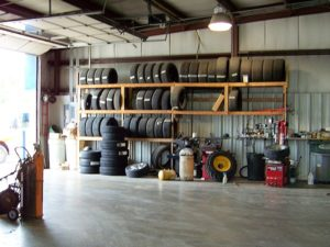 Tires repaired and replaced at Braudt's